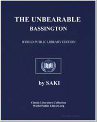 The Unbearable Bassington by Saki