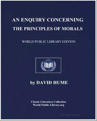 An Enquiry Concerning the Principles of ... by Hume, David