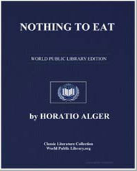 Nothing to Eat by Alger, Horatio, Jr.