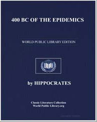 Of the Epidemics by Hippocrates