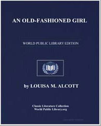 An Old-Fashioned Girl by Alcott, Louisa May