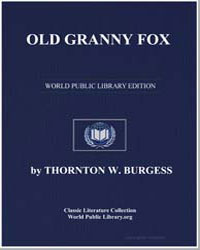 Old Granny Fox by Burgess, Thornton Waldo