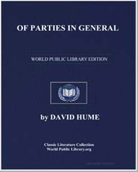 Of Parties in General by Hume, David