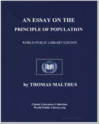 An Essay on the Principle of Population by Malthus, Thomas