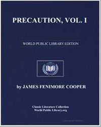 Precaution, Volume 1 by Cooper, James Fenimore