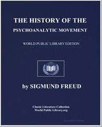 The History of the Psychoanalytic Moveme... by Freud, Sigmund