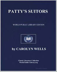 Patty's Suitors by Wells, Carolyn