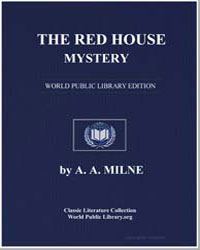 The Red House Mystery by Milne, A. A.