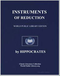 Instruments of Reduction by Hippocrates