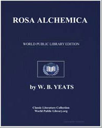 Rosa Alchemica by Yeats, William Butler
