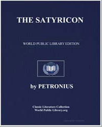 The Satyricon by Arbiter, Petronius