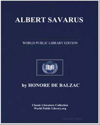 Albert Savarus by De Balzac, Honore