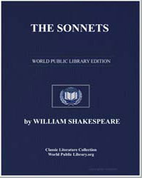 The Sonnets by Shakespeare, William