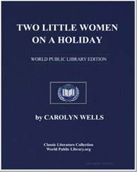 Two Little Women on a Holiday by Wells, Carolyn
