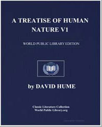 A Treatise of Human Nature, Vol. 1 by Hume, David
