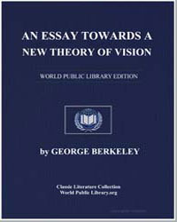 An Essay Towards a New Theory of Vision by Berkeley, George