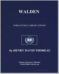 Walden by Thoreau, Henry David