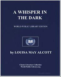 A Whisper in the Dark by Alcott, Louisa May