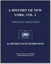 A History of New York, From the Beginnin... by Knickerbocker, Diedrich