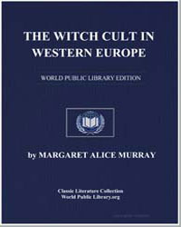 The Witch Cult in Western Europe by Murray, Margaret Alice