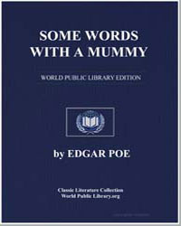 Some Words with a Mummy by Poe, Edgar Allan