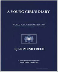 A Young Girl's Diary by Freud, Sigmund