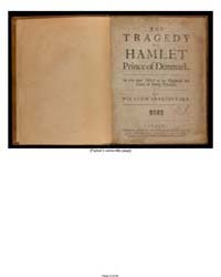 The Tragedy of Hamlet, Prince of Denmark... by Shakespeare, William