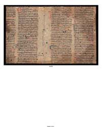 Catholic Church. Breviary Fragment: by Church Catholic