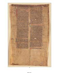 Historia Lausiaca Fragment: by Peter Lombard, Bishop of Paris