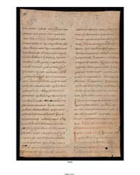 Martyrology Fragment: by Smaragdus, Abbot of St. Mihiel