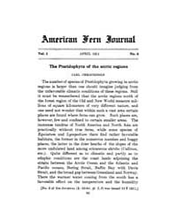 American Fern Journal : 1911 Vol. 1 No. ... Volume Vol. 1 by