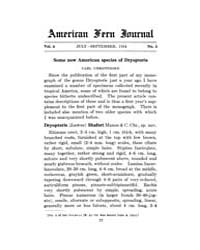 American Fern Journal : 1914 Vol. 4 No. ... Volume Vol. 4 by