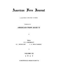 American Fern Journal : 1917 Vol. 7 No. ... Volume Vol. 7 by