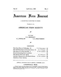 American Fern Journal : 1920 Vol. 10 No.... Volume Vol. 10 by
