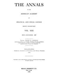 Annals of the American Academy of Politi... Volume Vol. 30 by Wood, Emily