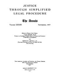 Annals of the American Academy of Politi... Volume Vol. 73 by Wood, Emily