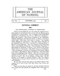 The American Journal of Nursing : 1908 V... Volume Vol. 8 by Kennedy, Maureen, Shawn