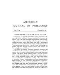The American Journal of Philology : 1883... Volume Vol. 4 by Larmour, David, H. J.