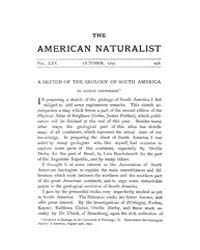 The American Naturalist : 1891 Vol. 25 N... Volume Vol. 25 by McPeek, Mark, A.