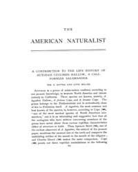 The American Naturalist : 1899 Vol. 33 N... Volume Vol. 33 by McPeek, Mark, A.