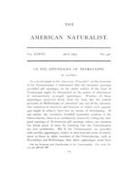 The American Naturalist : 1903 Vol. 37 N... Volume Vol. 37 by McPeek, Mark, A.