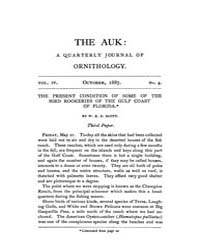 The Auk : 1887 Oct. No. 4 Vol. 4 Volume Vol. 4 by Murphy, Michael