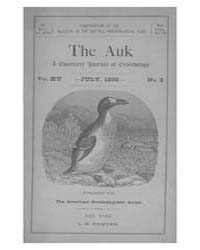 The Auk : 1898 Jul. No. 3 Vol. 15 Volume Vol. 15 by Murphy, Michael