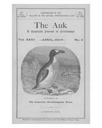 The Auk : 1909 Apr. No. 2 Vol. 26 Volume Vol. 26 by Murphy, Michael