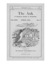 The Auk : 1913 Apr. No. 2 Vol. 30 Volume Vol. 30 by Murphy, Michael